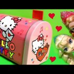 Hello Kitty Mailbox SURPRISE ❤ Lalaloopsy Play-Doh Peppa Kinder FROZEN Anna Elsa Shopkins MLP Pony