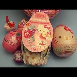 Hello Kitty Surprise Egg Opening Party!