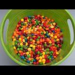 Hidden Surprise Eggs in a Bucket Full of Candy!