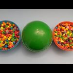 Hidden Surprises in 3 HUGE GIANT JUMBO Surprise Eggs Filled with Candy! Part 2
