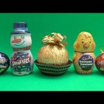 Holiday Surprise Egg Candy Party!  Opening Candy Filled Surprise Eggs!