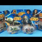 Hot Wheels STAR WARS Character Cars Yoda Chopper Darth Vader Chewbacca Han Solo C-3PO Obi-Wan Kenobi