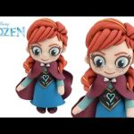 How to Make Disney Frozen Anna 3D with Play Doh Playdough DIY RainbowLearning
