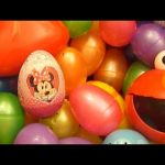 Huge 101 Surprise Egg Opening Kinder Surprise Elmo Disney Pixar Cars Mickey Minnie Mouse