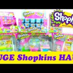 HUGE Shopkins Haul 40 Blind Baskets and 5 Shopkins Playset ToyGenie