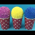 ICE CREAM Play Foam, Surprise Eggs, Minions, Transformers, the Trash Pack and Party Animals Toys