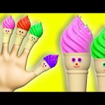 Ice Cream Song 3D Finger Family Learn Colors Collection for Kids – Daddy Finger Nursery Rhymes