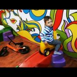 Indoor playground fun for kids. Bogdy's adventures. Video from KIDS TOYS CHANNEL