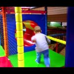 Indoor playground fun for kids. Children's entertaining video