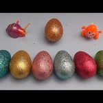 Inside Out Surprise Egg Learn-A-Word! Spelling Colours! Lesson 4