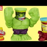 Intro – Play-Doh Marvel Smashdown Can-Heads Featuring Hulk Figure Iron Man the Avengers Super Heroes