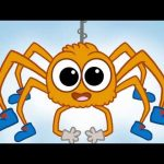 ♪ Itsy Bitsy Spider Song ♪ Nursery songs for children – Morphle's Nursery Rhymes