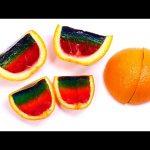Jello Oranges – How To Make Rainbow Jello Fruit by DCTC