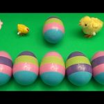 Kinder Surprise Egg Learn-A-Word! Spelling Easter Words! Lesson 5