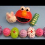 """Kinder Surprise Egg Learn-A-Word! Spelling Food """"Lesson C"""" (Teaching Letters Opening Eggs & Toys)"""