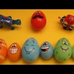 Kinder Surprise Egg Learn-A-Word! Spelling Fruit! Lesson 6