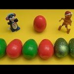 Kinder Surprise Egg Learn-A-Word! Spelling Holiday Words! Lesson 2