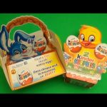 Kinder Surprise Egg Party!  Opening a Kinder Surprise Egg Basket and Box!