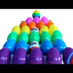 Learn ABCs with a Surprise Egg Tower! Kinder Play-Doh MLP Minions