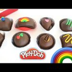 Learn Colors with Play-Doh Fruit Chocolates | RainbowLearning