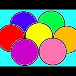 Learn Colours For Children With Balls Colouring Pages