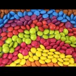 Learn Colours For Children With Smarties Candy, Make A Rainbow With Smarties Candy