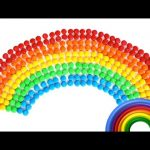 Learn Colours of the Rainbow with M&M Candy | Preschool Toddlers Kids RainbowLearning