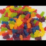 Learn Colours with Starburst Jellies Babies Make a Rainbow with Jelly Baby