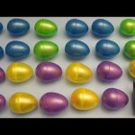 Learn Patterns with Surprise Eggs!  Opening Surprise Eggs filled with Toys! Lesson 9
