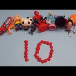 Learn To Count 1 to 10 with Toys and Candy Numbers!