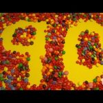 Learn To Count 1 to 90 with Candy Numbers! Surprise Eggs with Smarties Skittles and Candy Hearts