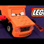 LEGO Cars 2 Grem with weapon 9486 Oil Rig Escape Disney Pixar toy review how-to build buildable toys