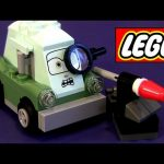 LEGO Cars 2 Professor Z 9486 Oil Rig Escape Disney Pixar toy review how-to build buildable toys