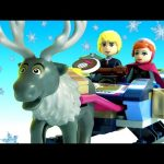 LEGO FROZEN Anna & Kristoff's Sleigh Adventure 41066 Disney Princess Lego With Oaken's Trading Post