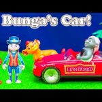 LION GUARD Disney Lion Guard Bungas New Car with Lion and Judy Hopps from Zootopia Video Parody