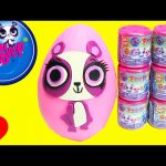 Littlest Pet Shop Penny Ling Play Doh Surprise Egg and Fashems