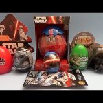 M & M Star Wars Surprise Egg and Blind Bag Opening Party!
