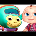 Mangu -The Monkey Bus | Wheels On The Bus Go Round And Round | Nursery Rhymes Collection