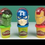 Marvel Avengers Surprise Heads, Iron Man, Captain America and Hulk