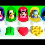 Mickey Mouse Clubhouse Pop-Up Pals Surprise Eggs Shopkins Kinder My Little Pony