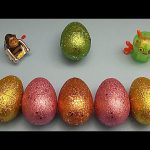 Minions Kinder Surprise Egg Learn-A-Word! Spelling Fruit! Lesson 10