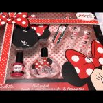 Minnie Mouse Nail polish & Accesories set for little girls. Video review from KIDS TOYS CHANNEL