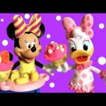 Minnie Mouse Tea Party with Daisy Duck Magiclip Disney Bow-Toons Bow-Tique Magic-Clip Play Doh