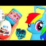 MLP Rainbow Dash Hair Case Radz My Little Pony Kinder Surprise | Maletín Mi Pequeño Pony Peinados