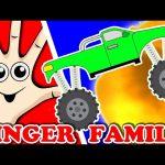 MONSTER TRUCK Finger Family | Songs For Kids | Surprise Eggs Animation for Children | Nursery Rhymes