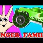 Monster Truck Finger Family | Surprise Eggs Nursery Rhyme | Finger Family Song for Kids Toddler Baby