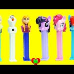 My Little Pony and Frozen Pez Dispensers