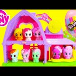 My Little Pony Applejack and Pinkie Pie Activity Barn with Shopkins Season 4
