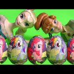 My Little Pony Chocolate Surprise Easter Eggs MLP Mi Pequeño Poni Huevos Sorpresa DisneyCollector