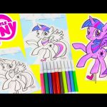 My Little Pony Pop Outz Coloring Twilight, Shopkins and More